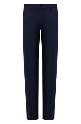 Мужские шерстяные брюки ZILLI темно-синего цвета, арт. M0S-40-38N-B6406/0001   Фото 1