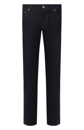 Мужские джинсы DOLCE & GABBANA темно-синего цвета, арт. GY07CD/G8BE8 | Фото 1