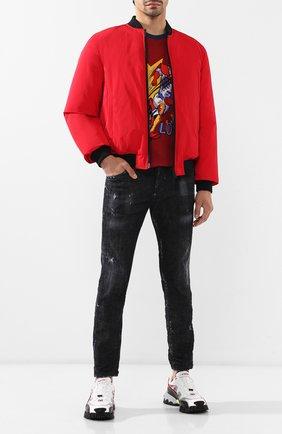 Мужские джинсы DSQUARED2 черного цвета, арт. S71LB0658/S30357 | Фото 2
