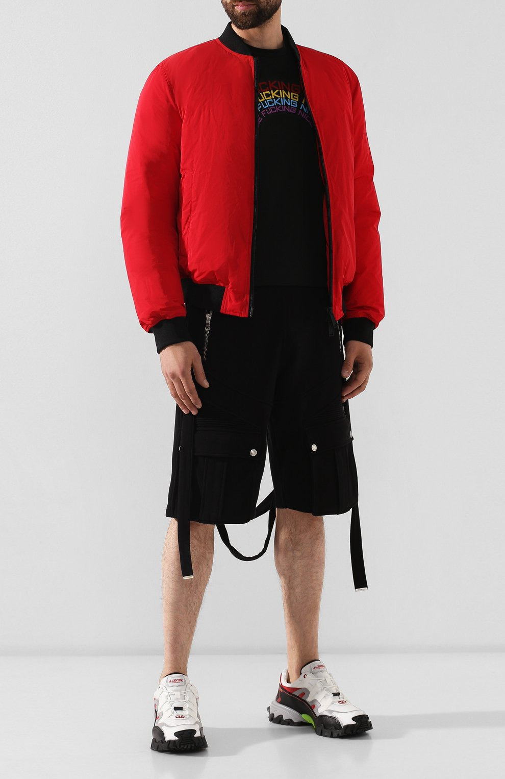 Мужская хлопковая футболка DSQUARED2 черного цвета, арт. S74GD0555/S22427 | Фото 2