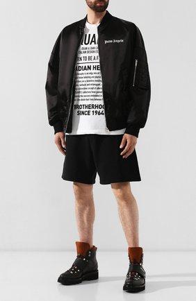 Мужская хлопковая футболка DSQUARED2 белого цвета, арт. S74GD0594/S22507   Фото 2