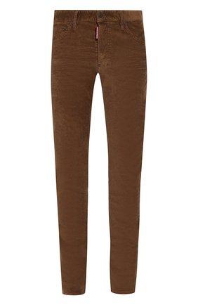 Мужские джинсы DSQUARED2 коричневого цвета, арт. S74LB0555/S40737 | Фото 1