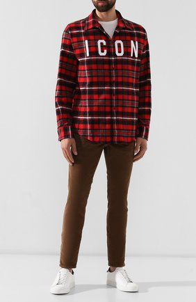 Мужские джинсы DSQUARED2 коричневого цвета, арт. S74LB0555/S40737 | Фото 2
