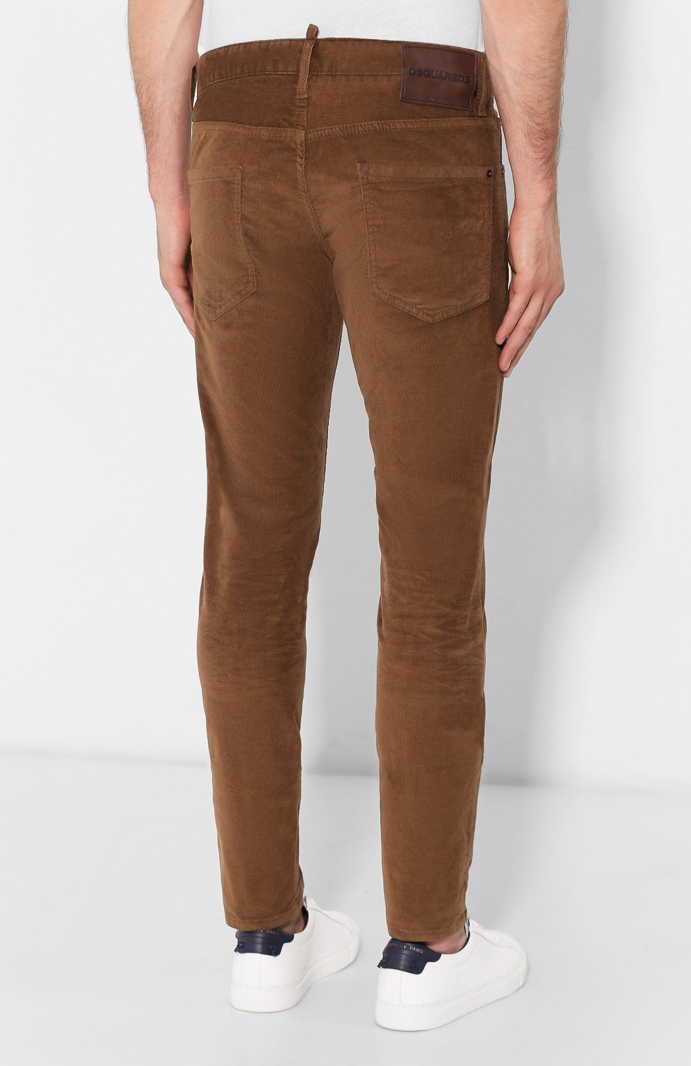 Мужские джинсы DSQUARED2 коричневого цвета, арт. S74LB0555/S40737 | Фото 4