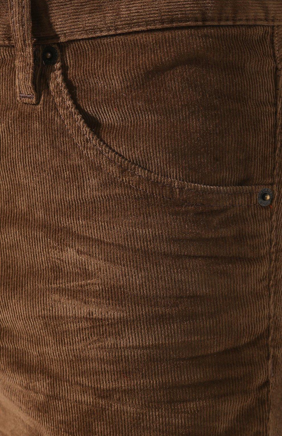 Мужские джинсы DSQUARED2 коричневого цвета, арт. S74LB0555/S40737 | Фото 5