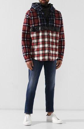 Мужские джинсы DSQUARED2 темно-синего цвета, арт. S74LB0565/S30664 | Фото 2