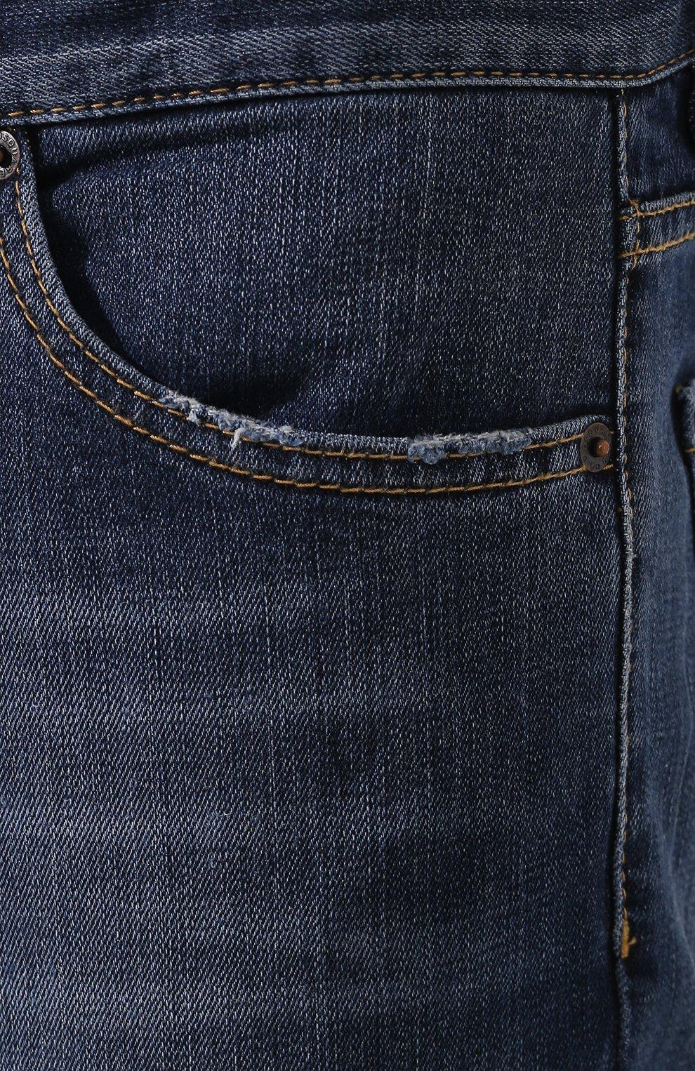 Мужские джинсы DSQUARED2 темно-синего цвета, арт. S74LB0565/S30664 | Фото 5