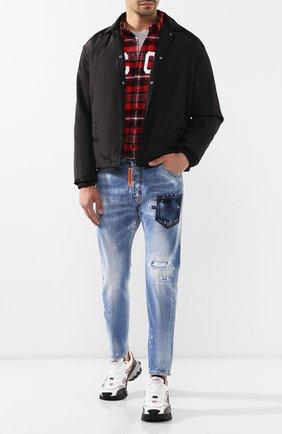 Мужские джинсы DSQUARED2 синего цвета, арт. S74LB0600/S30309 | Фото 2