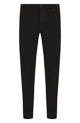 Мужские джинсы DSQUARED2 черного цвета, арт. S74LB0619/S39781 | Фото 1
