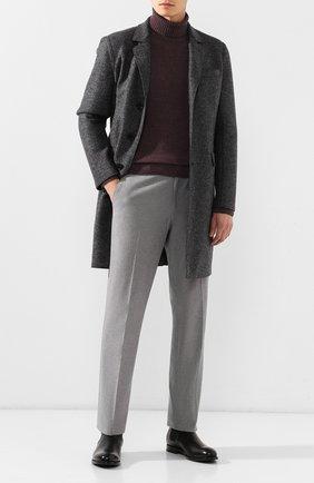 Мужские кожаные челси W.GIBBS черного цвета, арт. 2552060/0216   Фото 2
