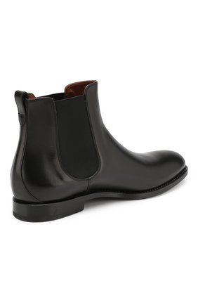 Мужские кожаные челси W.GIBBS черного цвета, арт. 2552060/0216   Фото 4
