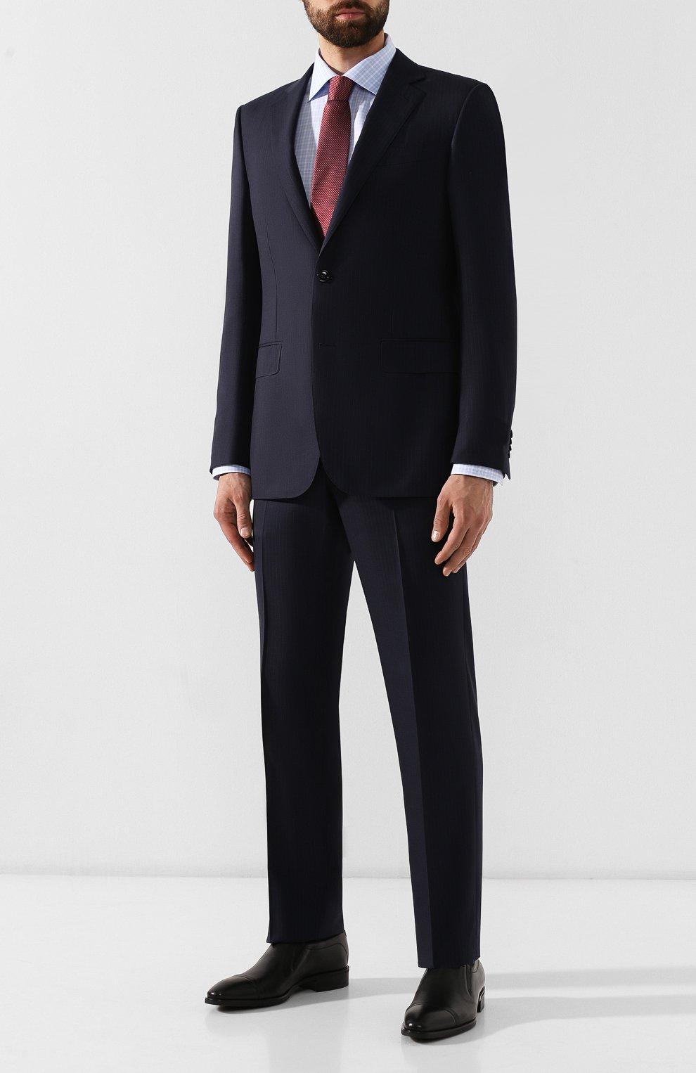 Мужские кожаные лоферы ALDO BRUE черного цвета, арт. AB602FPH-NL | Фото 2