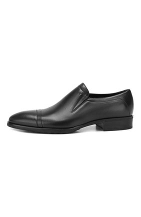 Мужские кожаные лоферы ALDO BRUE черного цвета, арт. AB602FPH-NL | Фото 3