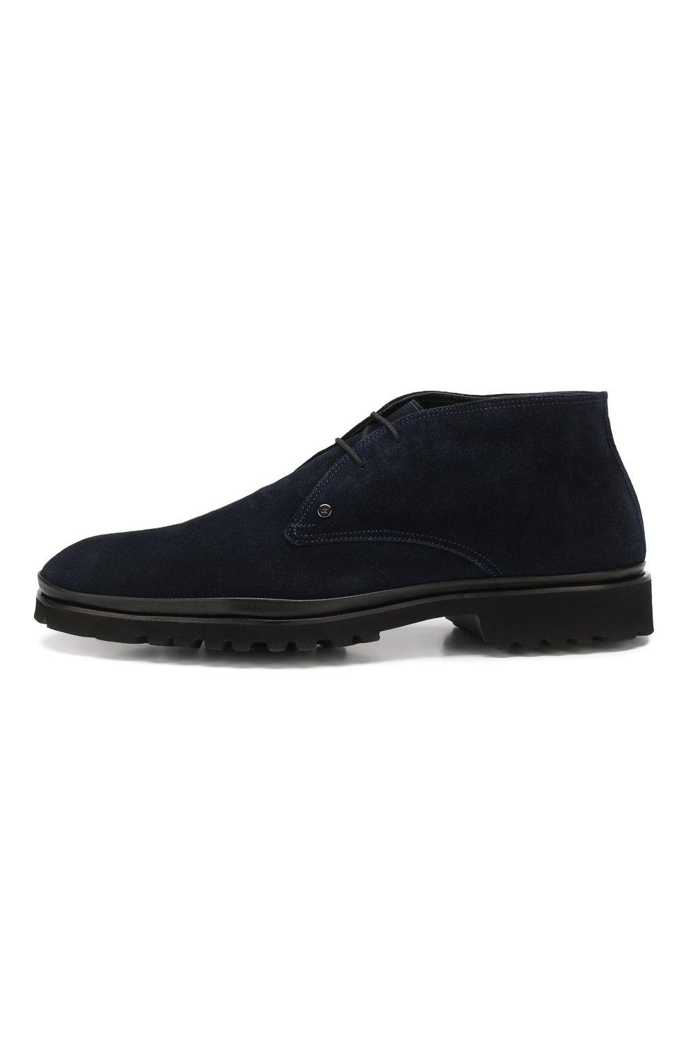 Мужские замшевые ботинки ALDO BRUE темно-синего цвета, арт. AB8514H-SA | Фото 3