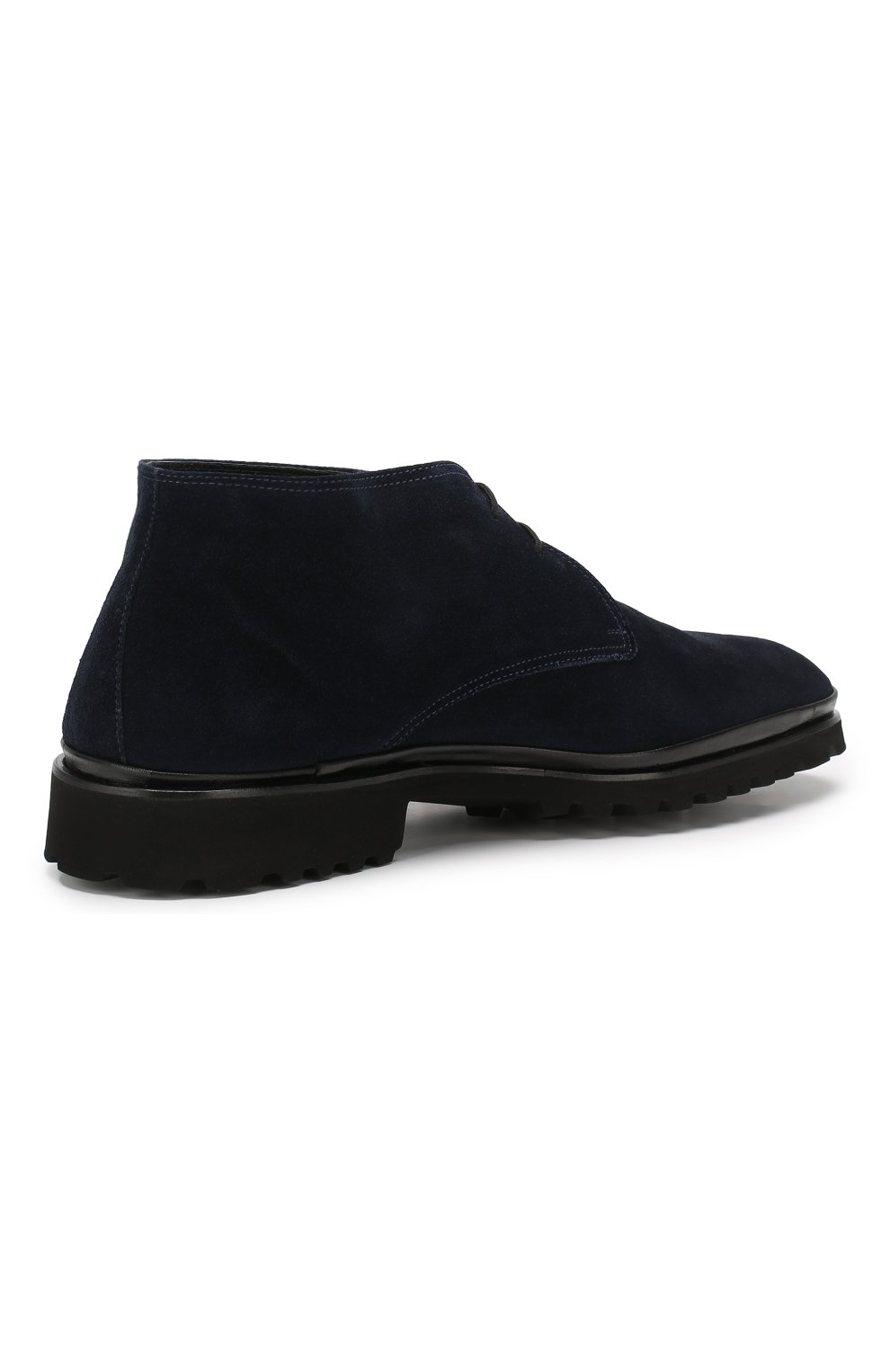 Мужские замшевые ботинки ALDO BRUE темно-синего цвета, арт. AB8514H-SA | Фото 4