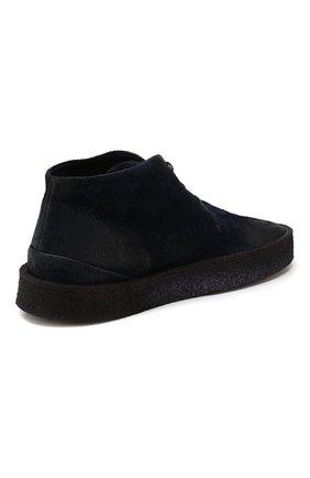 Мужские замшевые ботинки MARSELL темно-синего цвета, арт. MM2743/SPALLA R0VESCI0 | Фото 4