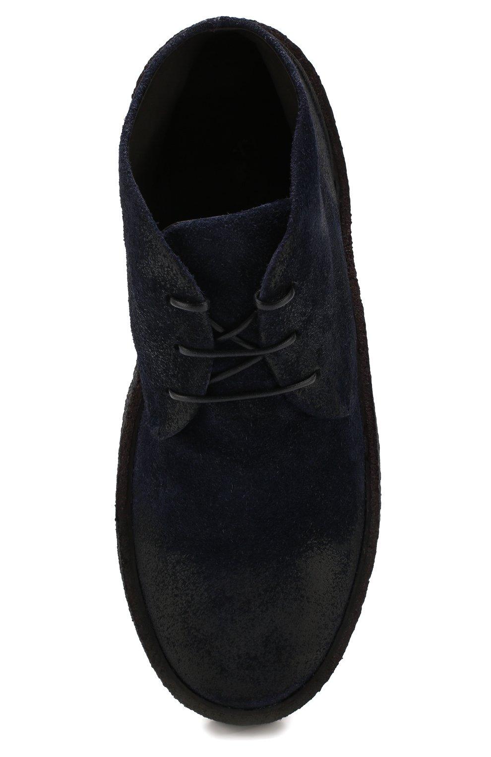 Мужские замшевые ботинки MARSELL темно-синего цвета, арт. MM2743/SPALLA R0VESCI0 | Фото 5