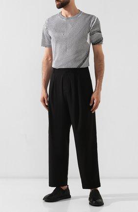 Мужские кожаные лоферы MARSELL черного цвета, арт. MM2798/NEVE | Фото 2