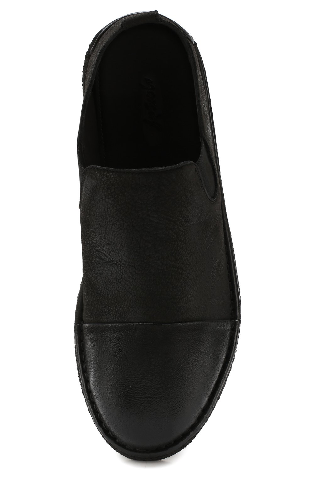 Мужские кожаные лоферы MARSELL черного цвета, арт. MM2798/NEVE | Фото 5