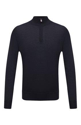 Мужской шерстяной джемпер CANALI темно-синего цвета, арт. C0015/MK00077 | Фото 1
