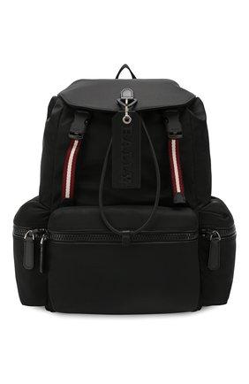 Мужской текстильный рюкзак crew BALLY черного цвета, арт. CREW SM.T/70 | Фото 1