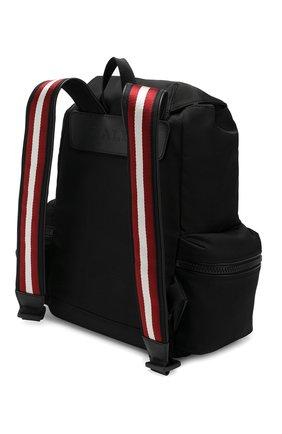 Текстильный рюкзак Crew Bally черный | Фото №3