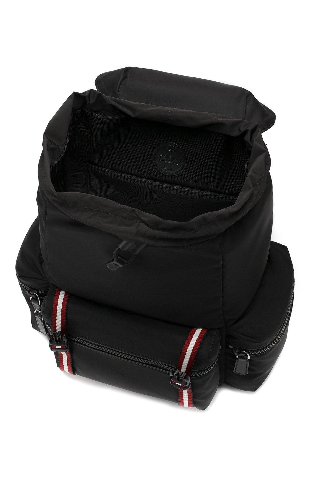 Текстильный рюкзак Crew Bally черный | Фото №4