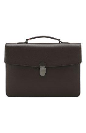 Кожаный портфель Gessner | Фото №1