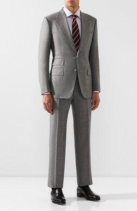 Мужская хлопковая сорочка BRIONI сиреневого цвета, арт. RCL40L/0805I | Фото 2