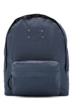 Мужской текстильный рюкзак MAISON MARGIELA синего цвета, арт. S55WA0053/PR253   Фото 1