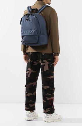 Мужской текстильный рюкзак MAISON MARGIELA синего цвета, арт. S55WA0053/PR253   Фото 2