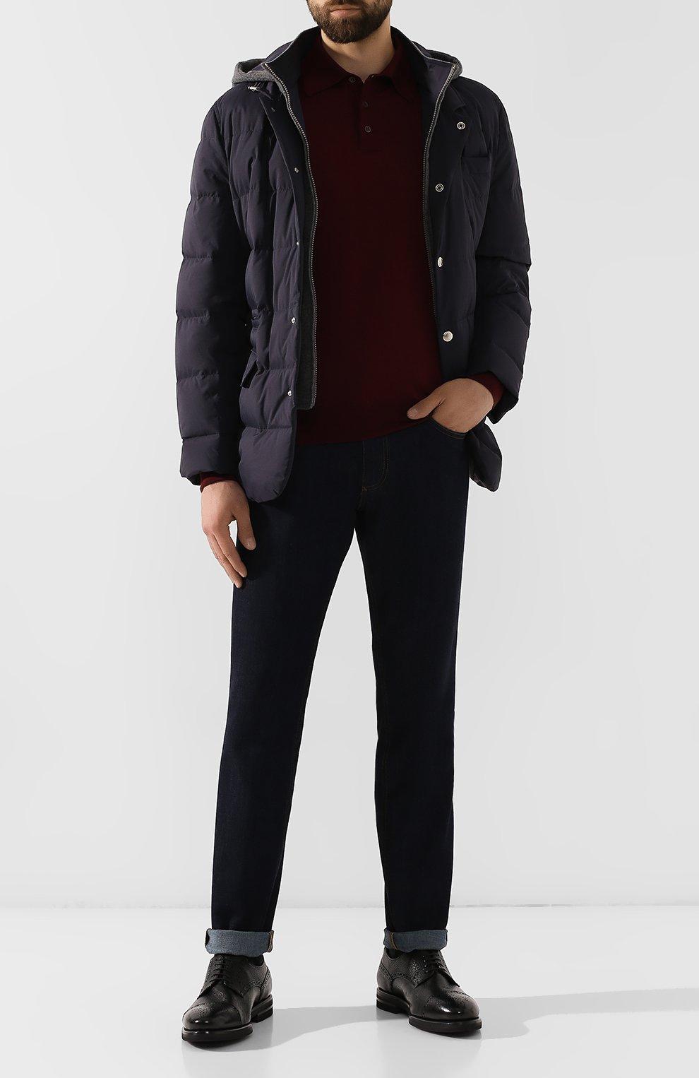 Мужские кожаные дерби H`D`S`N BARACCO черного цвета, арт. 59218.3* | Фото 2
