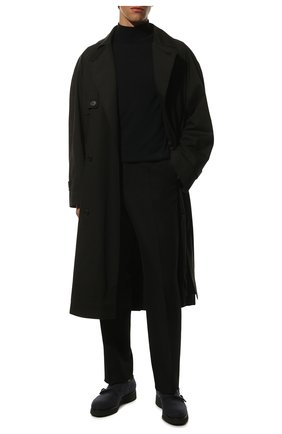 Мужские текстильные монки DOUCAL'S темно-синего цвета, арт. DU1357DAK0UT032NB00 | Фото 2