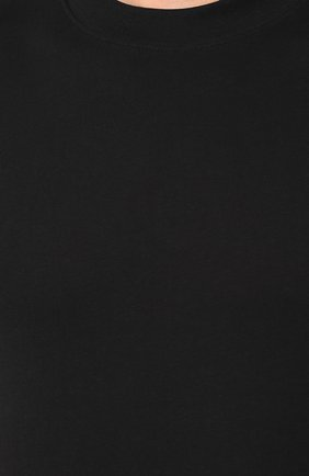 Мужская хлопковая футболка VALENTINO черного цвета, арт. SV3MG08Y3LE   Фото 5