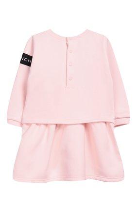 Женский хлопковое платье GIVENCHY розового цвета, арт. H02045 | Фото 2