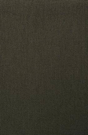 Детский шерстяной шарф-снуд CATYA хаки цвета, арт. 923741/1 | Фото 2