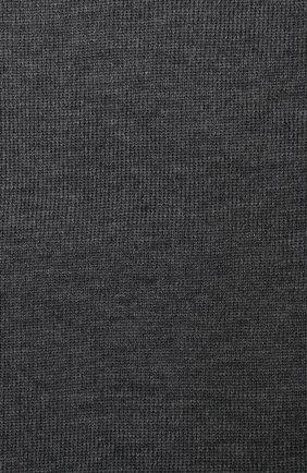 Детский шерстяной шарф-снуд CATYA темно-серого цвета, арт. 923741/1 | Фото 2