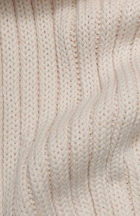 Детский шерстяной шарф CATYA бежевого цвета, арт. 923738 | Фото 2