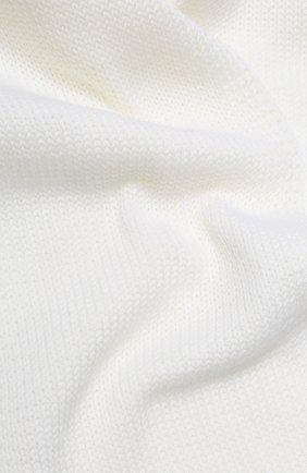 Детский шерстяной шарф CATYA белого цвета, арт. 923730 | Фото 2