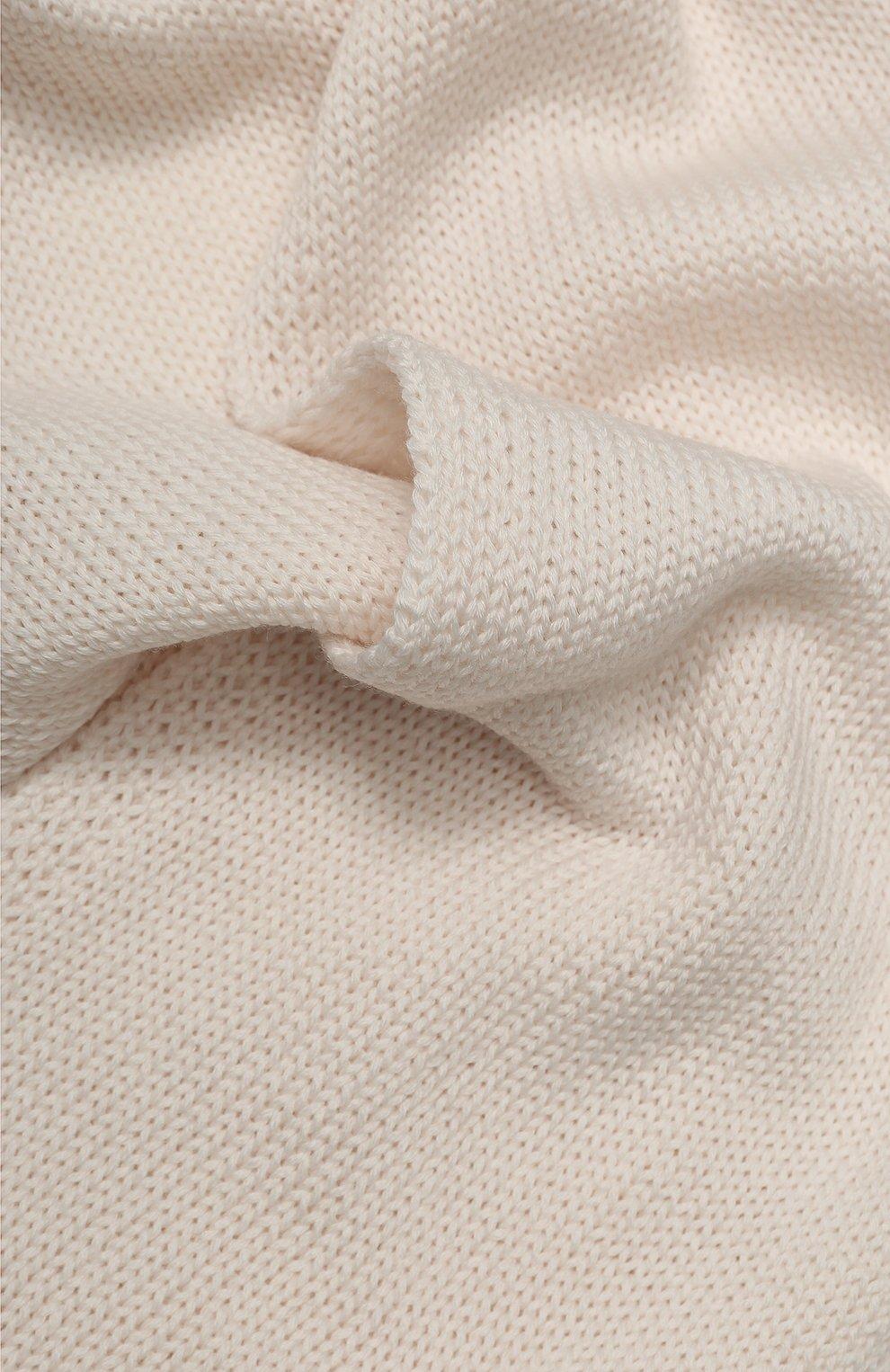 Детский шерстяной шарф CATYA бежевого цвета, арт. 923730 | Фото 2