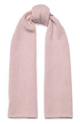 Детский шерстяной шарф CATYA светло-розового цвета, арт. 923730 | Фото 1