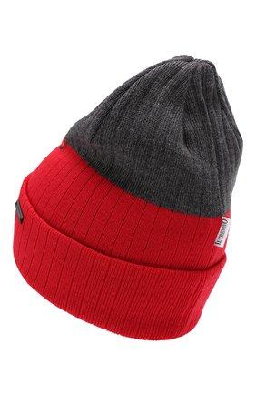 Детского шерстяная шапка IL TRENINO красного цвета, арт. 19 6200/E0 | Фото 2