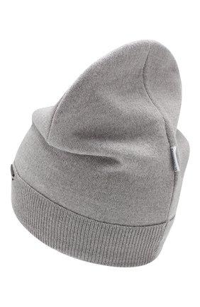 Детского шерстяная шапка IL TRENINO серого цвета, арт. 19 6158/E0 | Фото 2