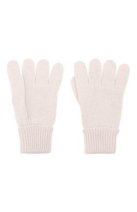 Детские шерстяные перчатки IL TRENINO бежевого цвета, арт. 19 5059/E0 | Фото 2