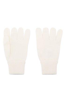 Детские шерстяные перчатки IL TRENINO белого цвета, арт. 19 5059/E0 | Фото 2