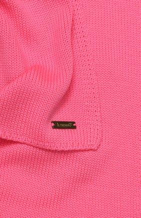 Детский шерстяной шарф IL TRENINO розового цвета, арт. 19 1121/E0 | Фото 2