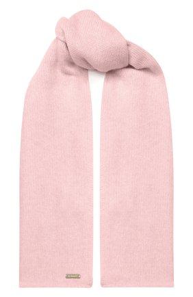 Детский шарф из шерсти и кашемира IL TRENINO светло-розового цвета, арт. 17 5150/E0 | Фото 1