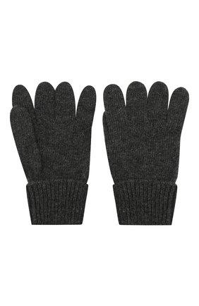Детские перчатки из шерсти и кашемира IL TRENINO темно-серого цвета, арт. 17 5139/E0 | Фото 2