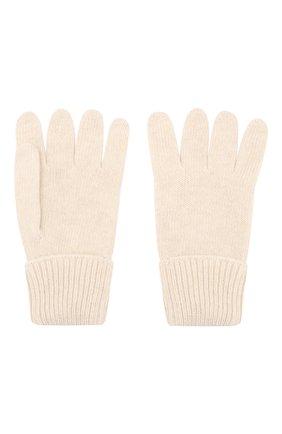 Детские перчатки из шерсти и кашемира IL TRENINO бежевого цвета, арт. 17 5139/E0 | Фото 2