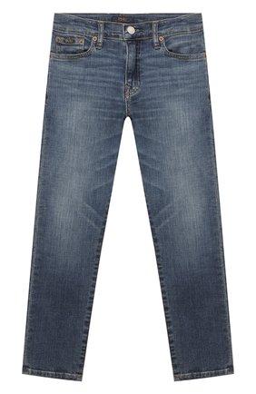Детские джинсы POLO RALPH LAUREN синего цвета, арт. 323759991 | Фото 1